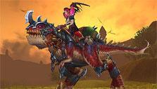 Raptor mount in Allods Online