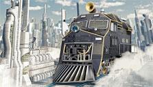 Transport Empire: Modern steam train
