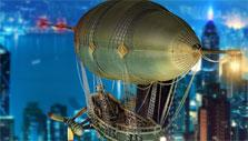 Airship in Transport Empire