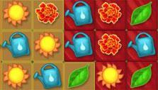 Queen's Garden: red tiles