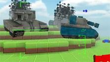 Tank battles in Blockade 3D