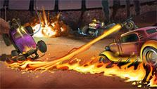 Heavy Metal Machines: burn up the arena!