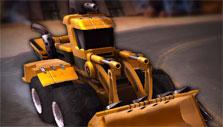 Bulldozer in Heavy Metal Machines