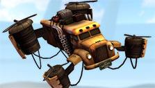 Heavy Metal Machines: recall helicopter