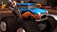 Monster truck in Heavy Metal Machines