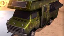 Heavy Metal Machines: Green truck