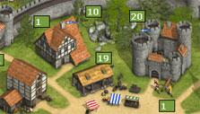 Your castle in Tribal Wars