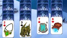 Icy peaks in Avalon Legends Solitaire