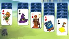 Step ladder in Avalon Legends Solitaire