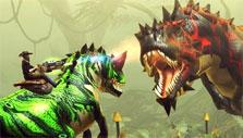 Dino Storm: Solo dino hunt