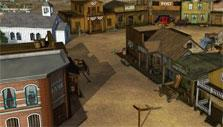 Western town in The West