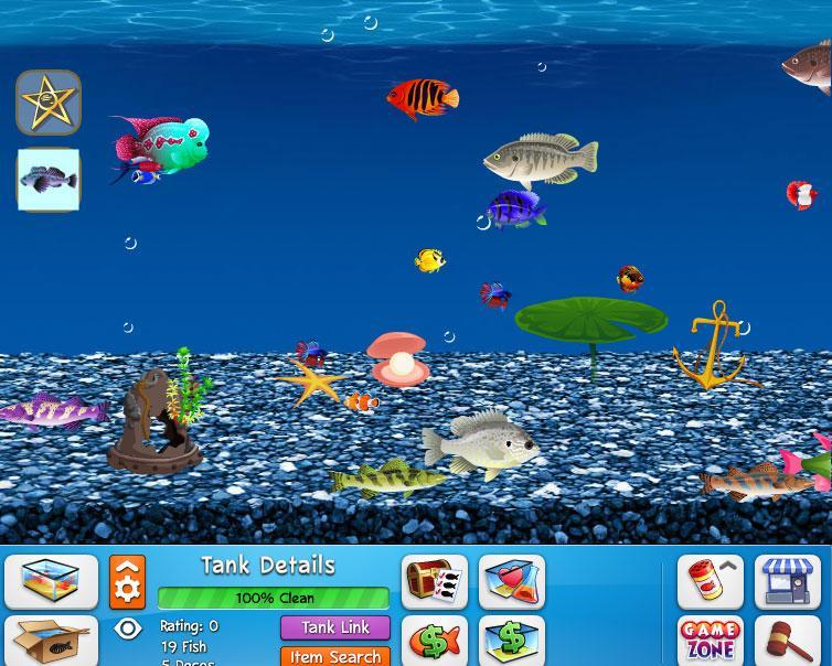 Fish world wwgdb for Fish world games