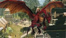 Red dragon in Dragon's Prophet