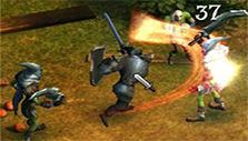 Warrior combat in Kingsroad