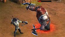 Archer combat in Kingsroad
