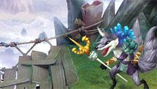 Dragon Pals: Wolf boss