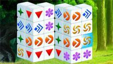 Mahjongg Dimensions Blast: Blue tile
