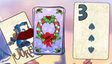 Christmas theme in Solitaire Blitz