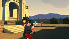Rocket man gameplay in Get the Gun
