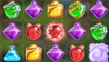 Red glowing flask in Fairy Mix