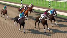 Blazing Silks: Close race