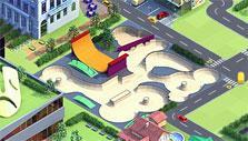 Skatepark in Landlord
