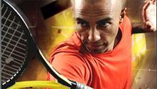 Focus in Tennis Duel