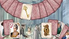Lock and key in Regency Solitaire