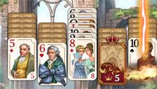 Lightning in Regency Solitaire