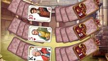Crown cards in Regency Solitaire