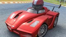 Firenzo in Kart World 3D