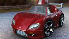 Ronin in Kart World 3D