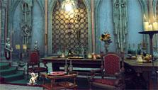 Throne room in The Secret Society
