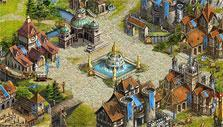 Imperia Online: City square