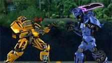 Robot PvP in Robo Racing