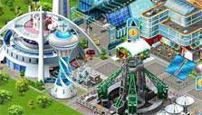 Airport City: High tech buildings