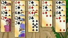 Special J, Q and K cards in Forty Thieves Solitaire Gold