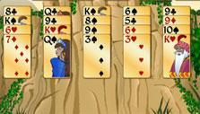 Forty Thieves Solitaire Gold: Starting a game