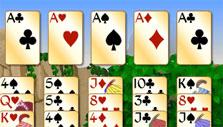 Easy mode in Forty Thieves Solitaire Gold