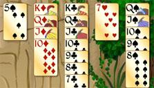 Forty Thieves Solitaire Gold: Almost done