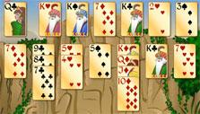 3 sets completed in Forty Thieves Solitaire Gold