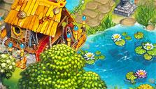 The Tribez: Pond-side house