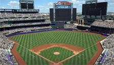 Citi field in WGT Baseball: MLB