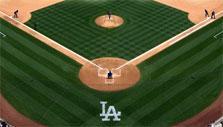 Dodgers' stadium in WGT Baseball: MLB