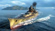 Myoko in World of Warships