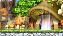 Mushroom hut in MapleStory