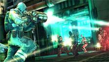 Head-on attack in Shadowgun: Deadzone