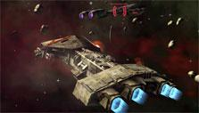 Engaging the enemy in Battlestar Galactica Online