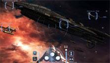 Docking in Battlestar Galactica Online