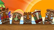 Sunset Solitaire 2: The tikis